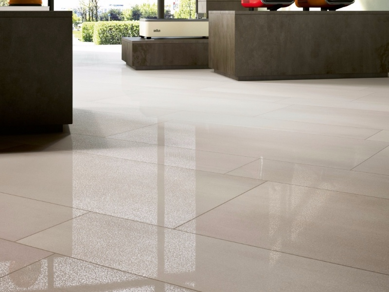 Alstonia Ceramica - Awesome Flooring Tiles looks like a Glass Surface