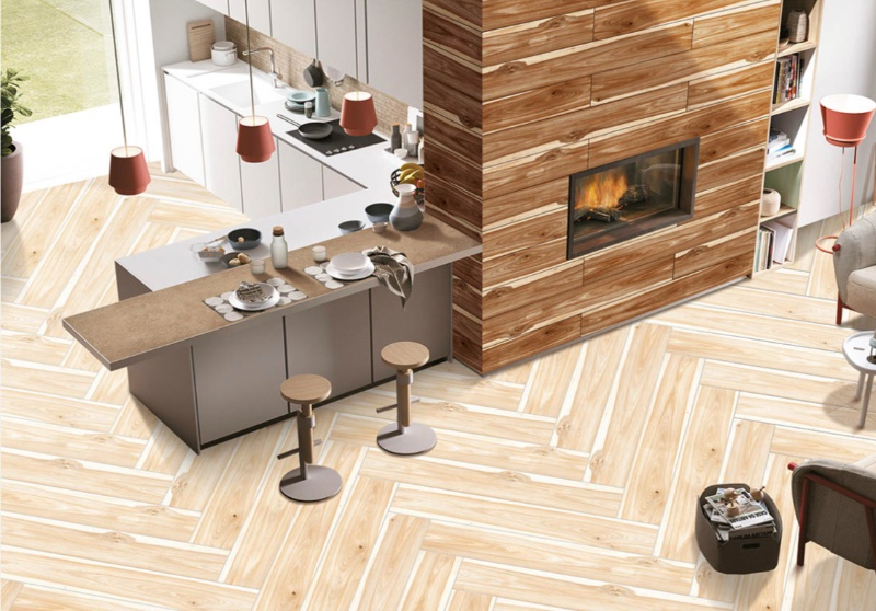 Wooden Porcelain Tile